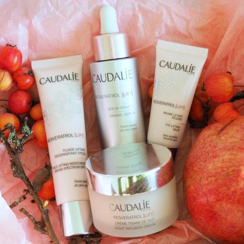 Caudalie Revertrol Lift: Serum, Augencreme, Tagescreme und Nachtcreme