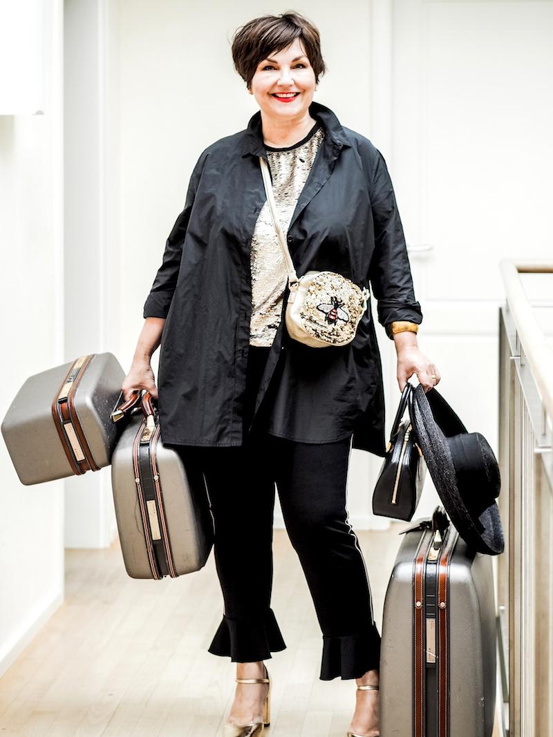 Lifestyle 50 plus: Plussize Bloggerin Texterella Susanne Ackstaller fährt auf die Berlin Fashionweek und gibt hier wertvolle tipps.
