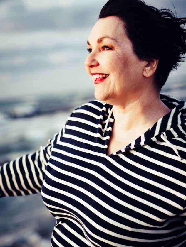 Ostseeliebe: Susanne Ackstaller aka Texterella an der See