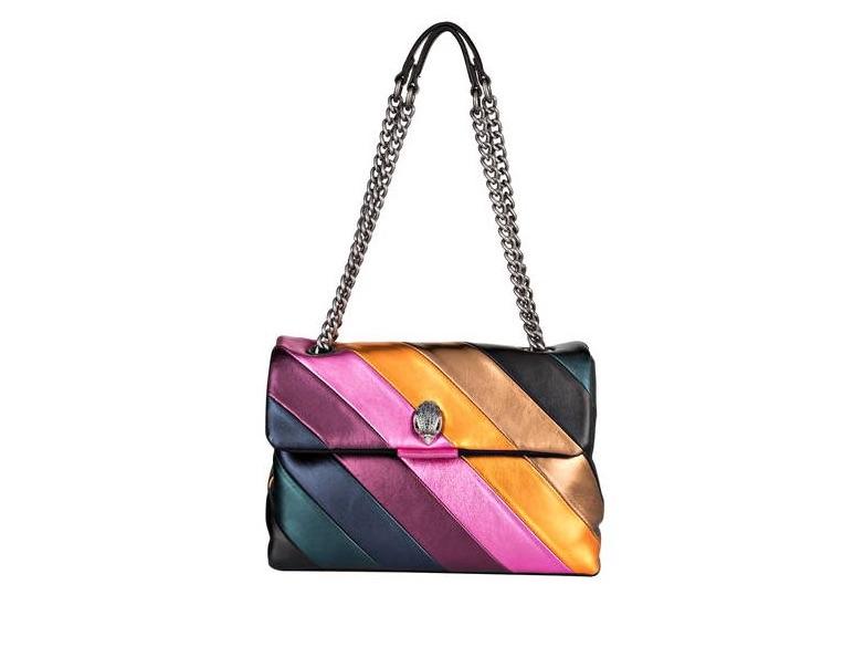 Tasche in Regenbogenfarben von Kurt Geiger