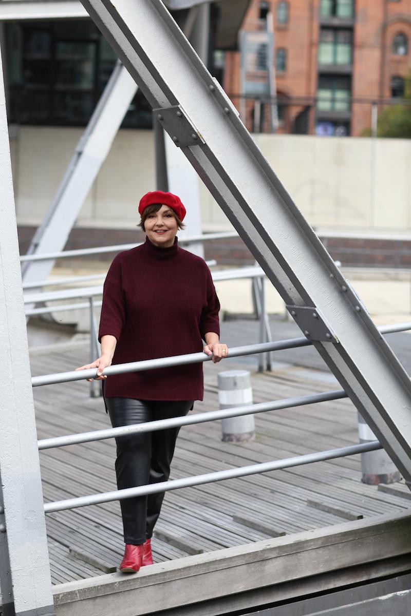 Hafencity Hamburg: Texterella aka Susanne Ackstaller zeigt Plussize Fashion