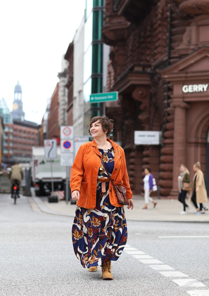 Susanne Ackstaller aka Texterella erkundet Hamburg.