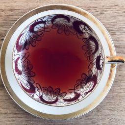 Teetasse achtsamkeit