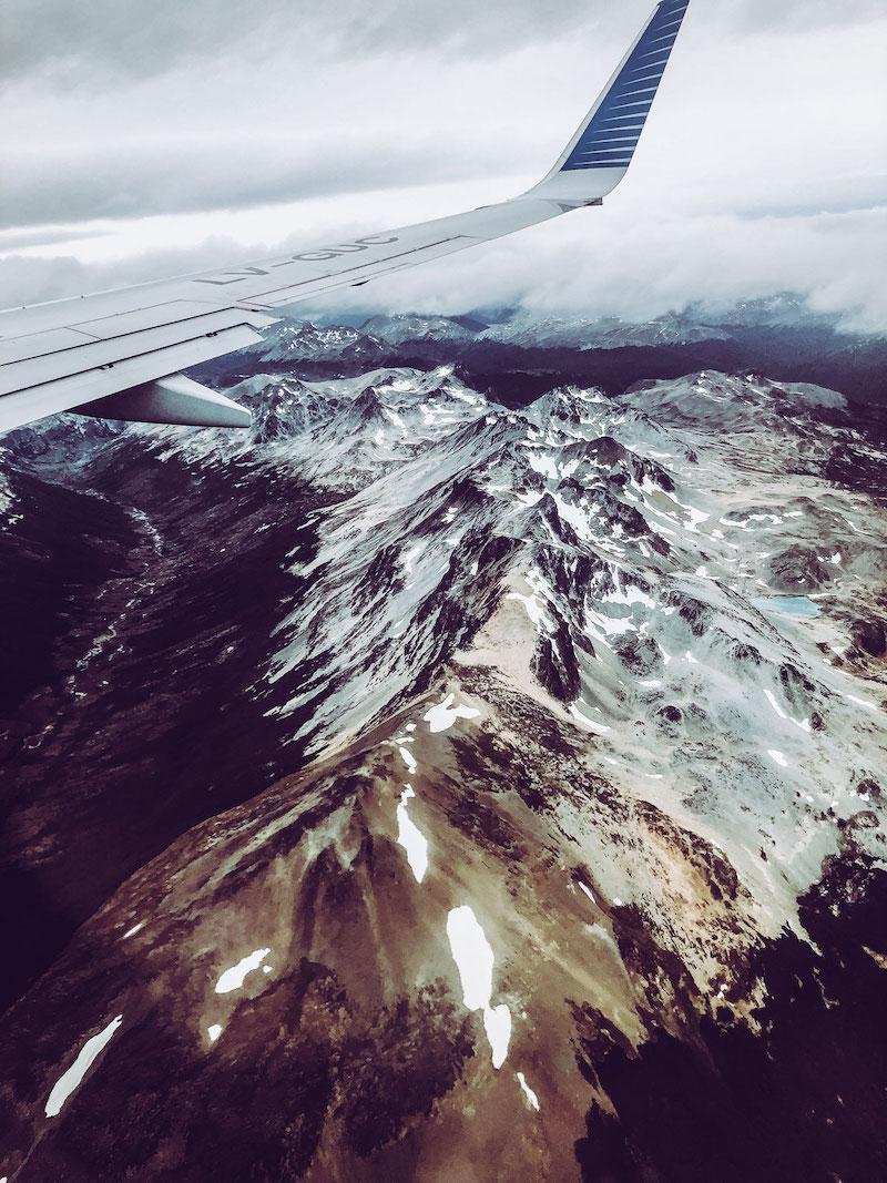 Anflug auf Ushuaia