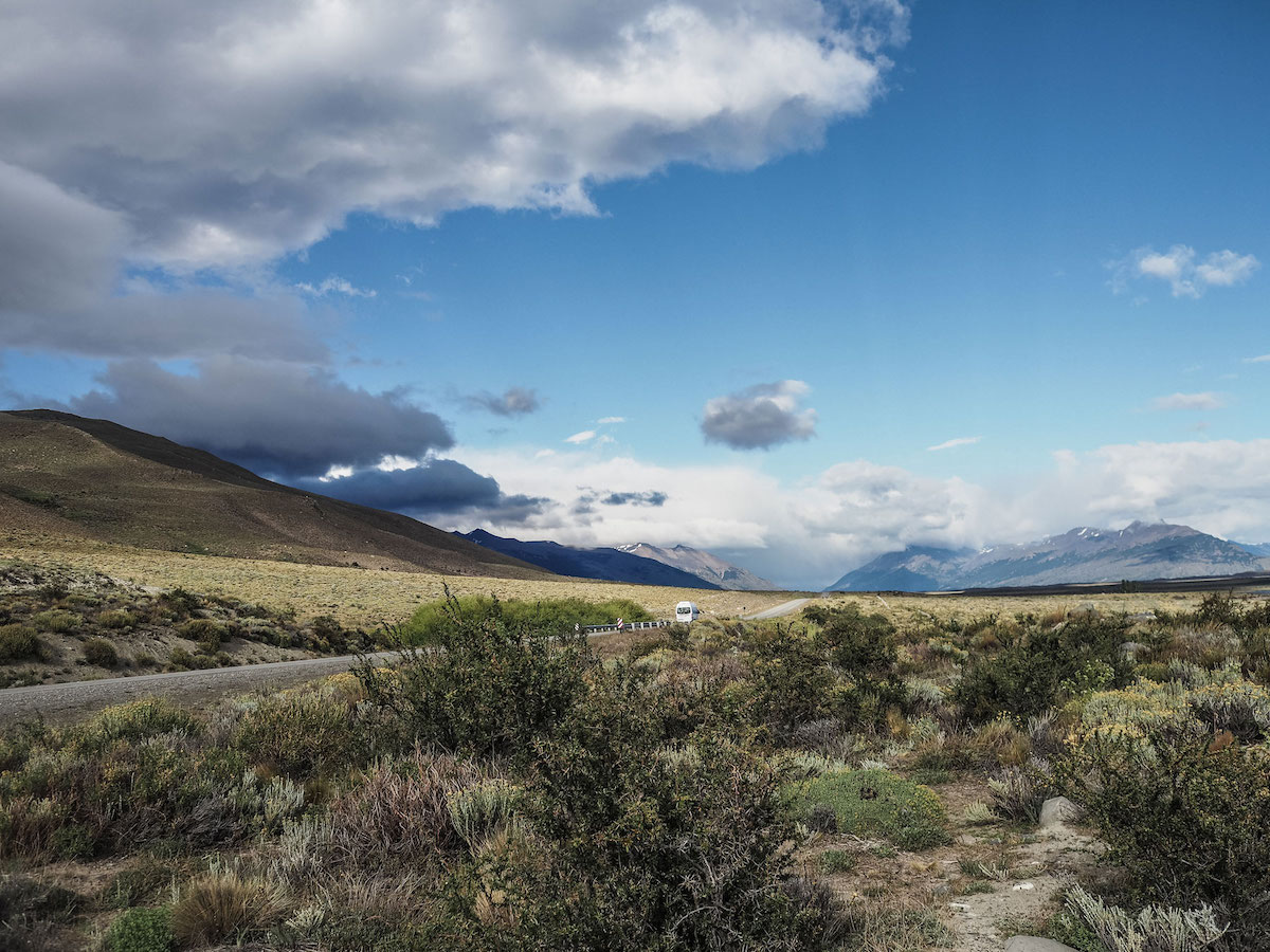 Unterwegs im Patagonien