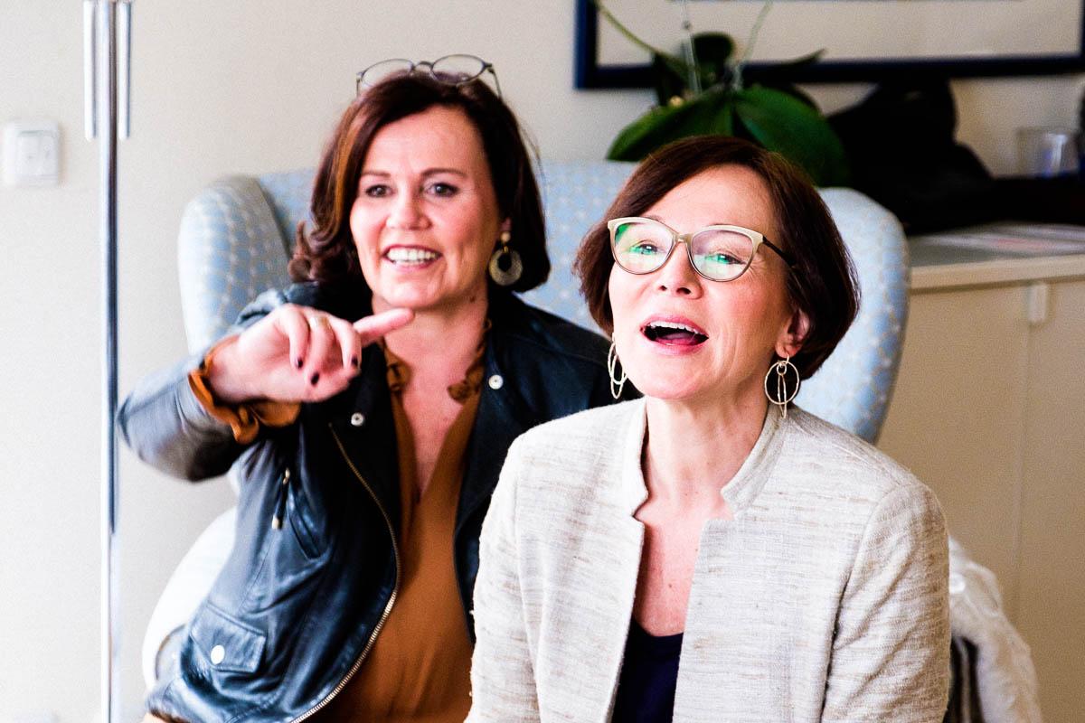 Annette Höldrich von Lady of Style und Regina Rettenbacher von InaStil