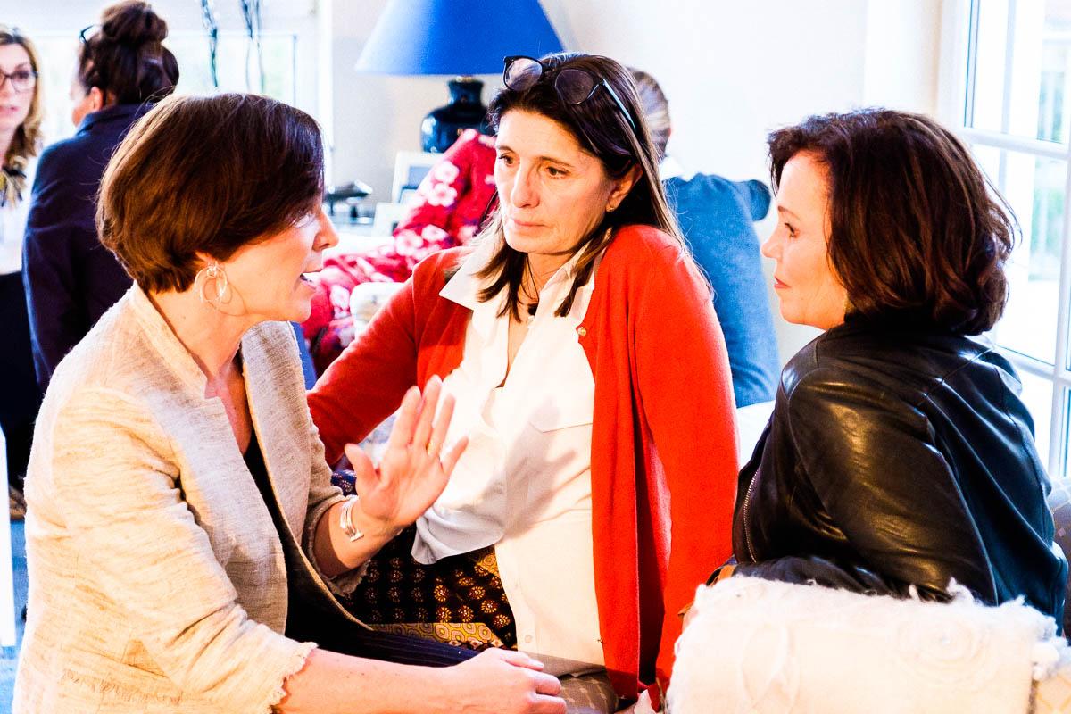 Annette Höldrich von Lady of Style, Claudia Braunstein von Claudia on tour und Regina Rettenbacher von Inastil bei #10JahreTexterella