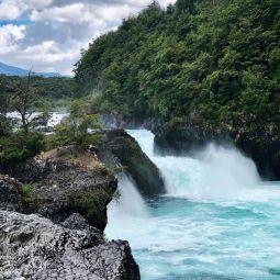 Wasserfall in sudamerika