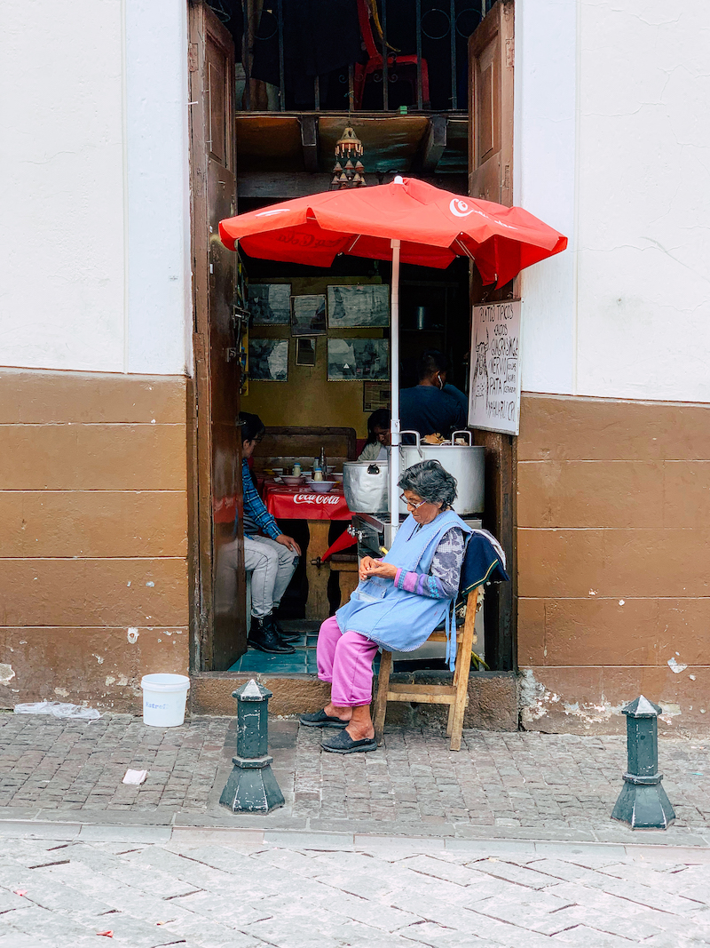 Texterella aka Susanne Ackstaller verrät ihre Lieblingsorte in Quito.