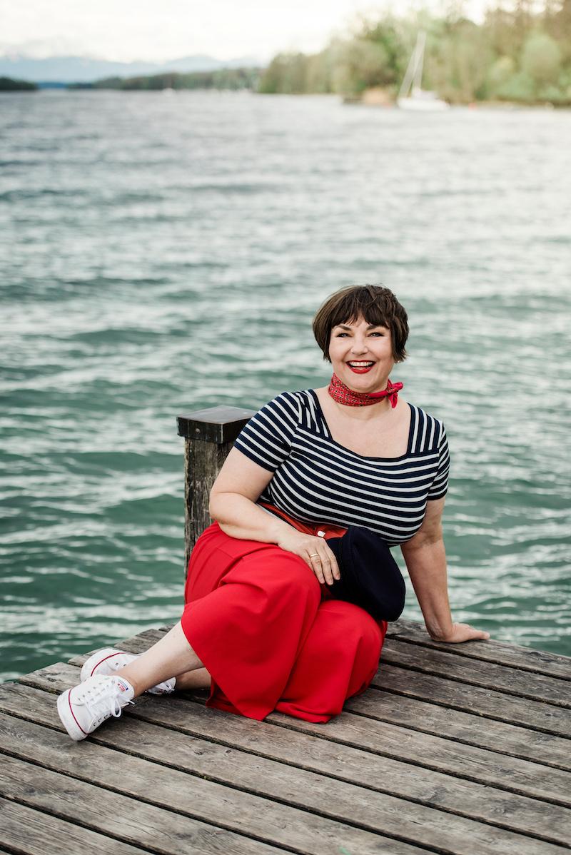 Texterella aka Susanne Ackstaller am Starnberger See