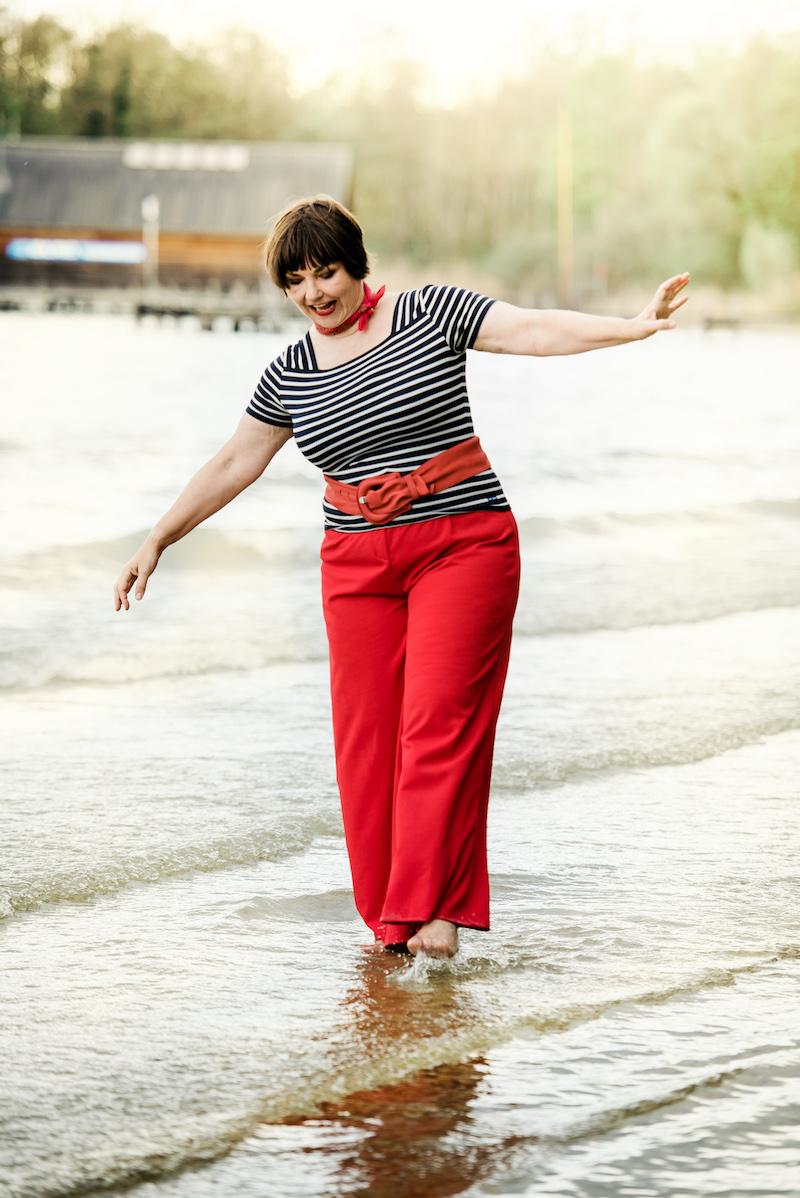Bloggerin Susanne Ackstaller von Texterella am Starnberger See