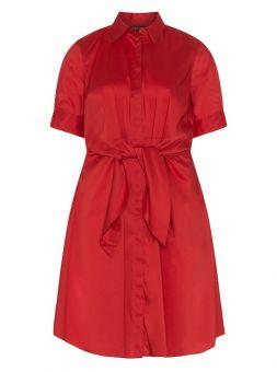 Rotes kleid von ralph lauren