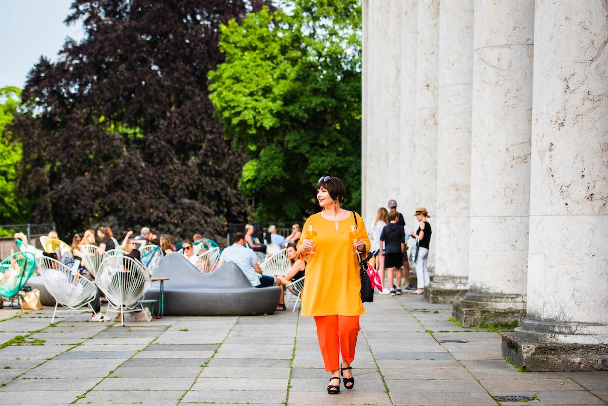Susanne Ackstaller zeigt dir die kühlsten Orte in München.
