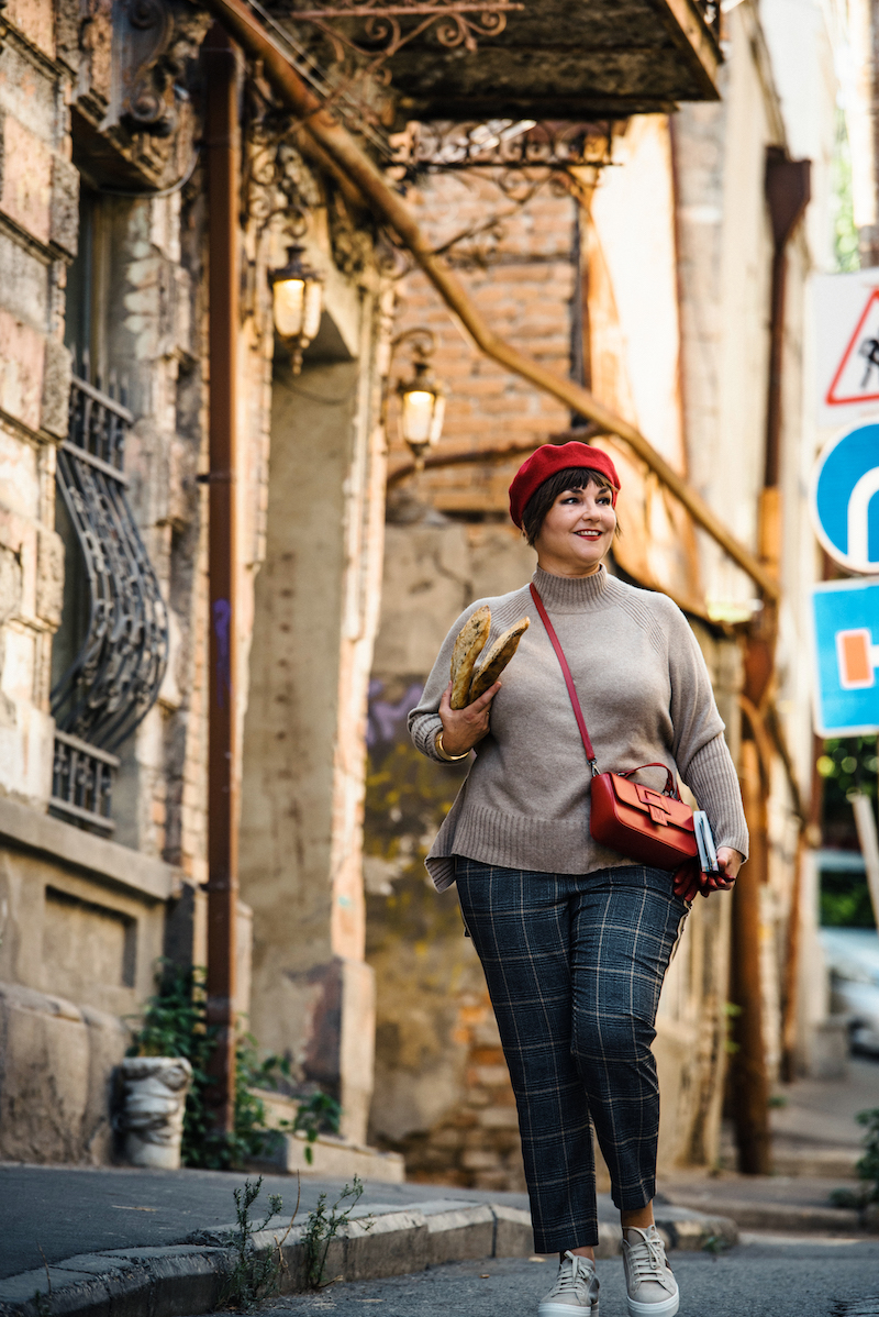 Susanne Ackstaller aka Texterella ist unterwegs in Tiflis.