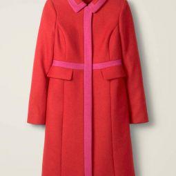 Boden mantel in rot und pink