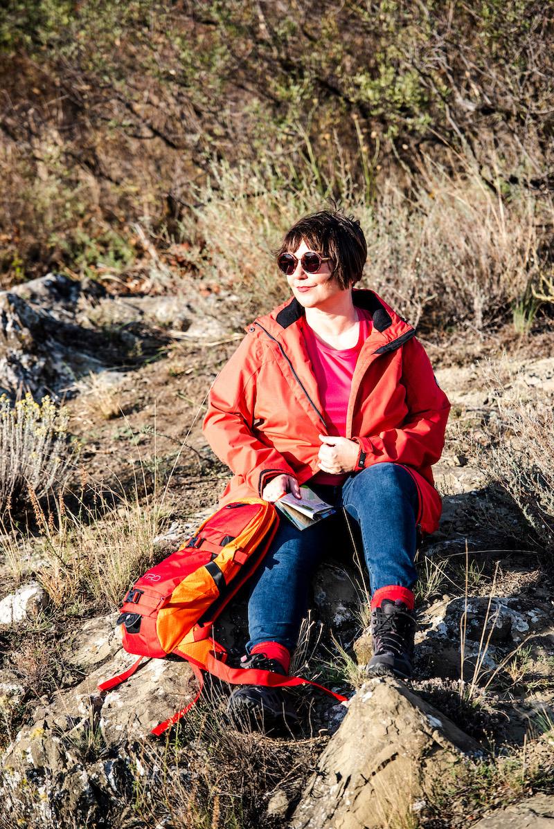Susanne Ackstaller aka Texterella wandert in Georgien.