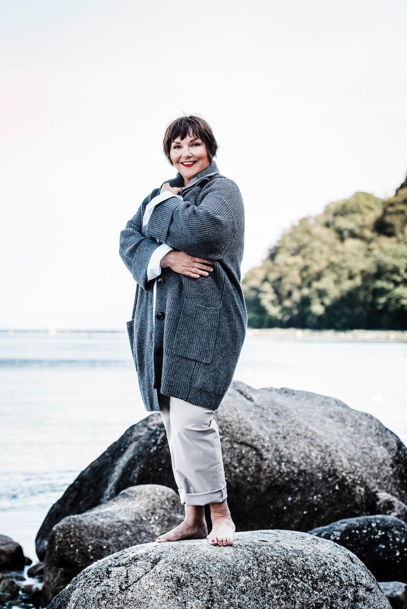 Susanne Ackstaller aka Texterella in Sallie Sahne auf Rügen