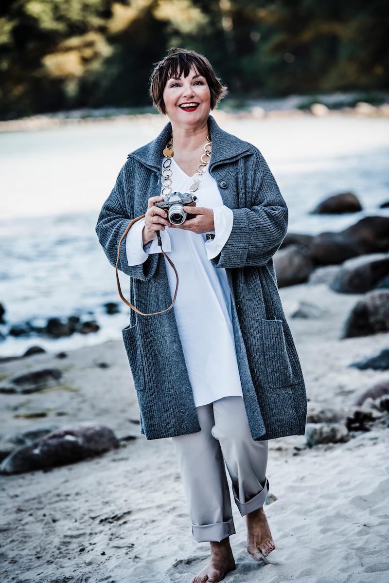 Susanne Ackstaller liebt die Ostsee auch im Herbst. Hier erzählt sie warum.