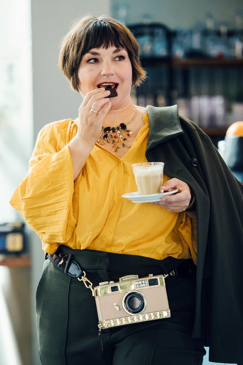 Susanne Ackstaller zeigt dir ihren Lieblingslook für diesen Herbst.