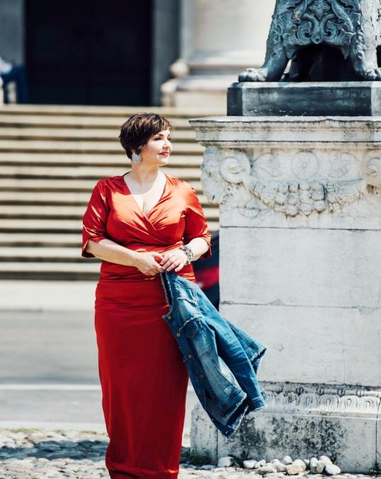 Lady in red-2 kopie 2