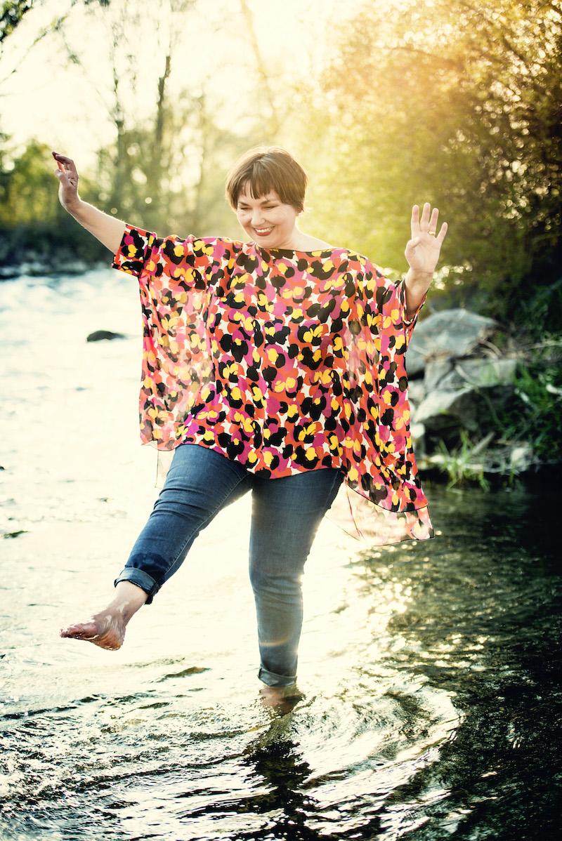 So kann der Sommer kommen: Texterella Susanne Ackstaller trägt ihre Lieblingssommermode.