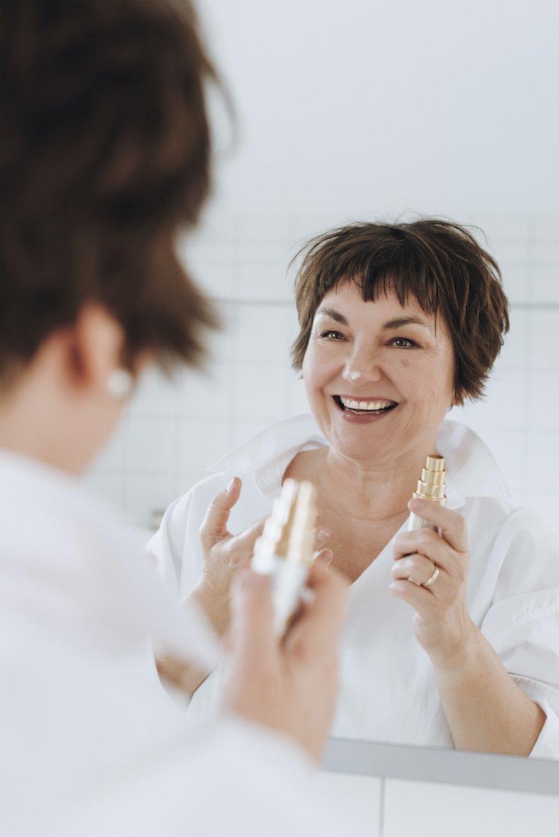 Susanne Ackstaller aka Texterella zeigt, wie einfach wirkungsvolle Hautpflege sein kann!