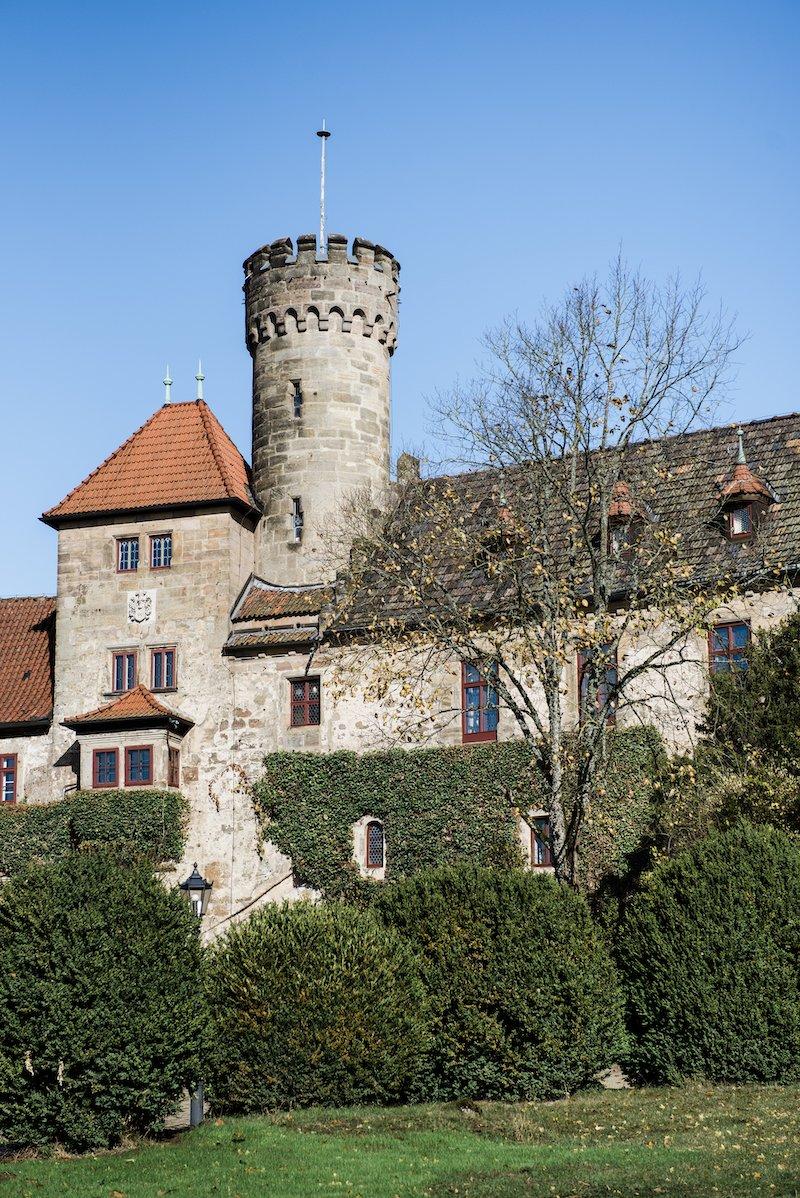 Texterella aka Susanne Ackstaller besucht Schloss Hohenstein bei Coburg