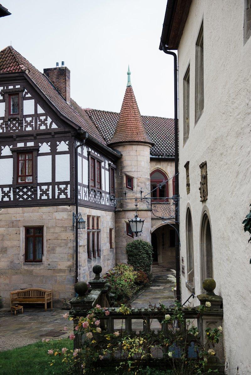 Texterella auf Schloss Hohenstein in Oberfranken