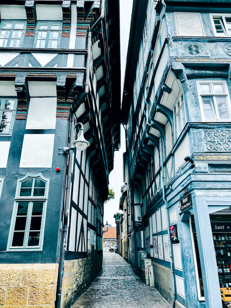 Texterella besucht den Harz: ein Nachmittag in Goslar
