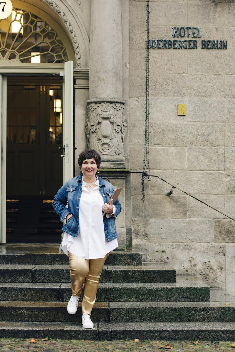 Susanne Ackstaller Texterella im Hotel Oderberger in Berlin