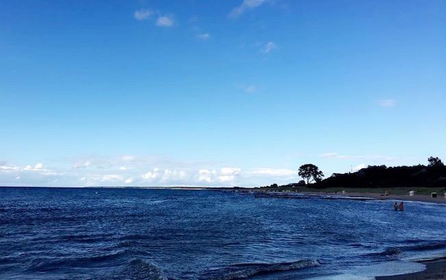 Abends am Darß: Der Strand zwischen Wustrow und Ahrenshoop