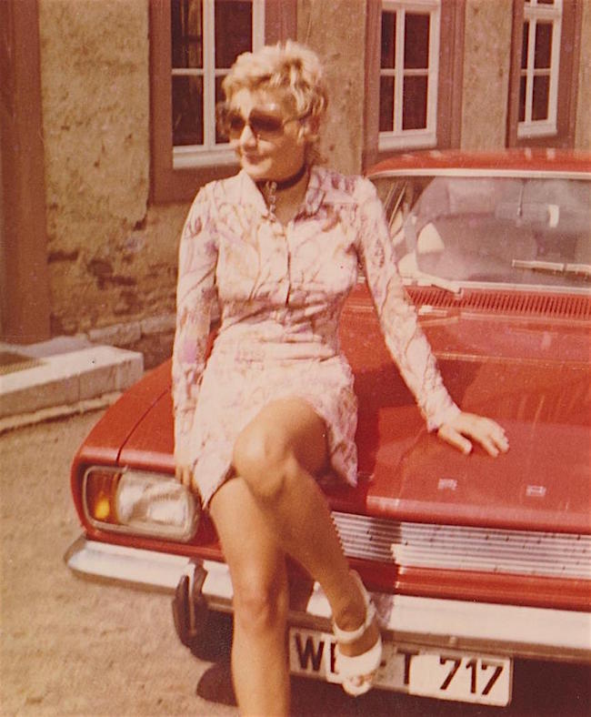 Birgid Hanke, Autorin und Schriftstellerin, 1971.