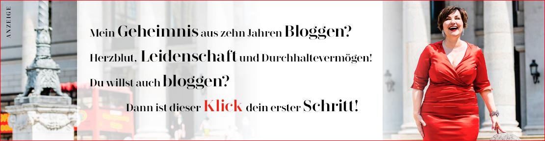 Mein Geheimnis aus zehn Jahren Bloggen? Herzblut, Leidenschaft und Durchhaltevermögen. Du willst auch bloggen? Dann ist dieser Klick deine erster Schritt!