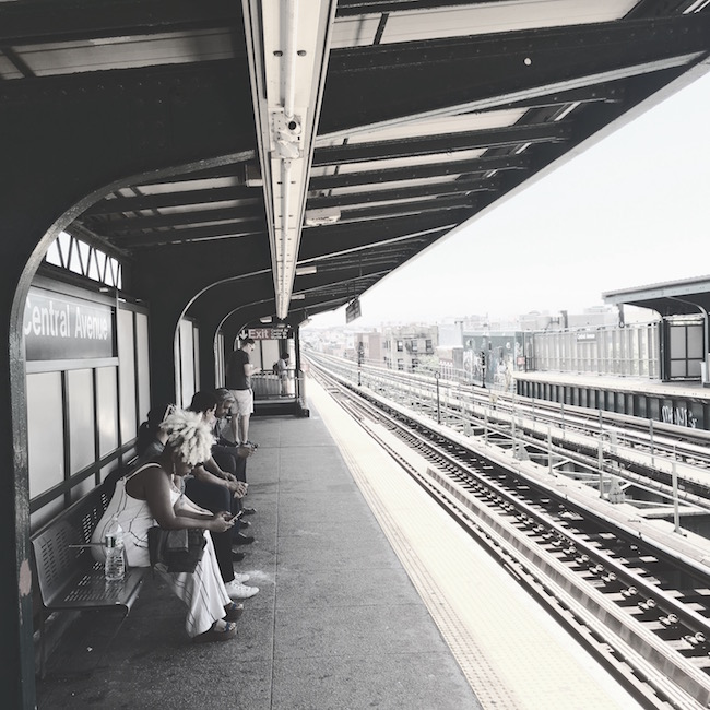 Central Avenue: Waiting for the M Train