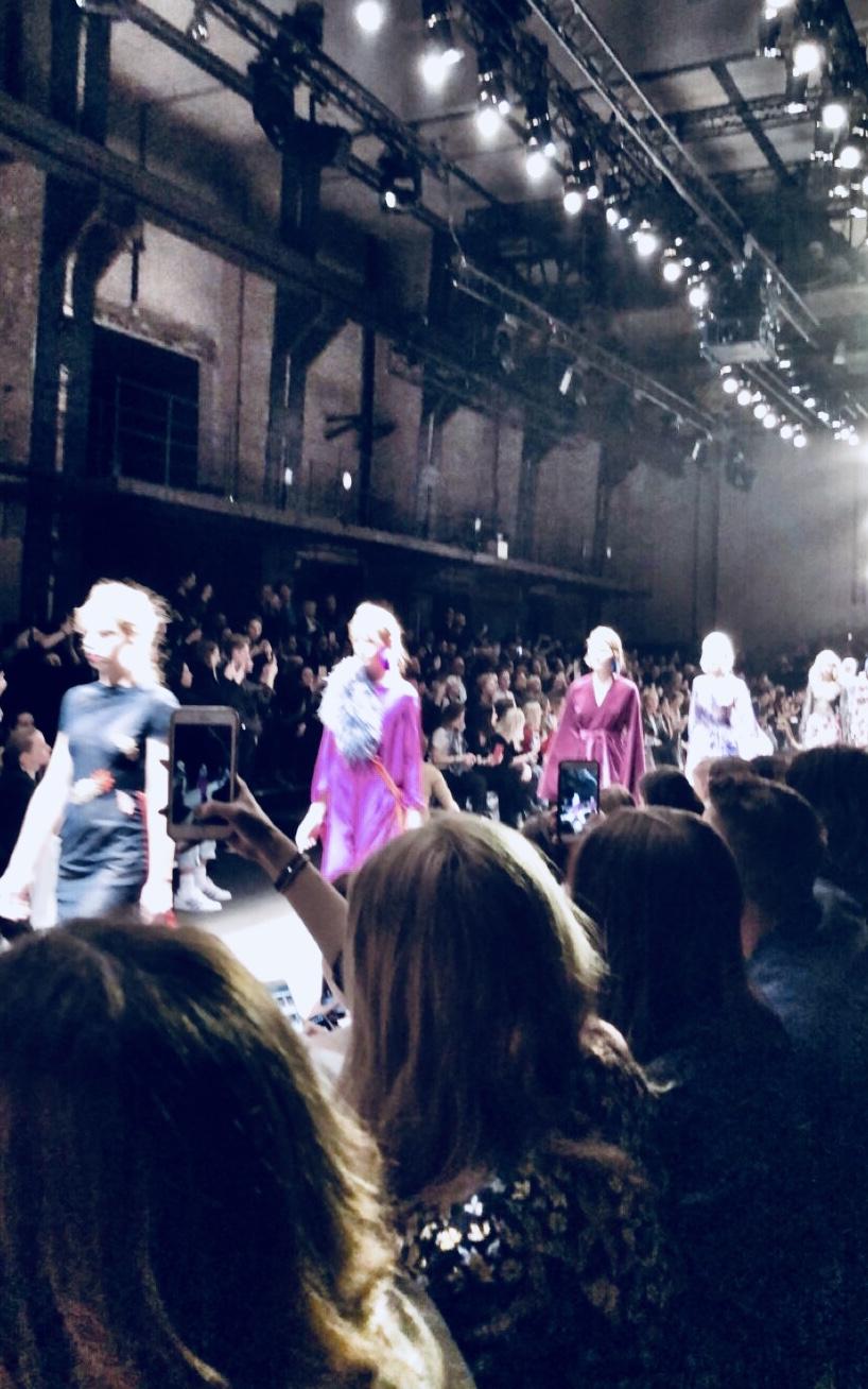 Fashionshow Dawid Tomaszweski auf der Berlin Fashionweek 2018