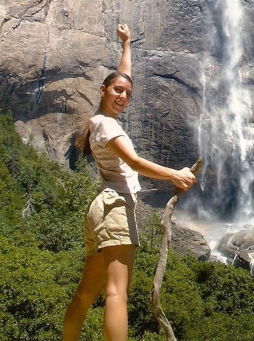 Emma im Yosemite Park
