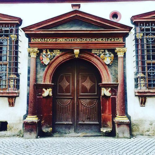 Erfurt: Prachtvoller Torbogen