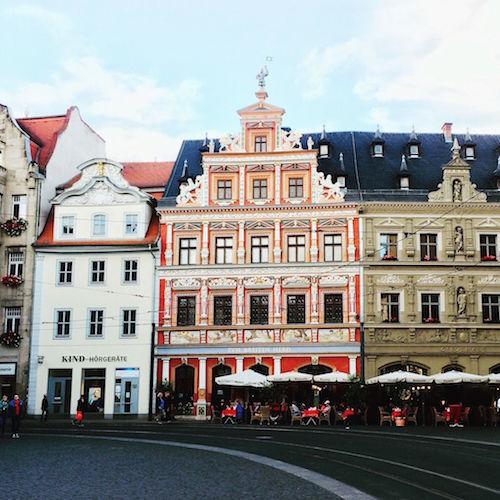 Erfurt: die Innenstadt