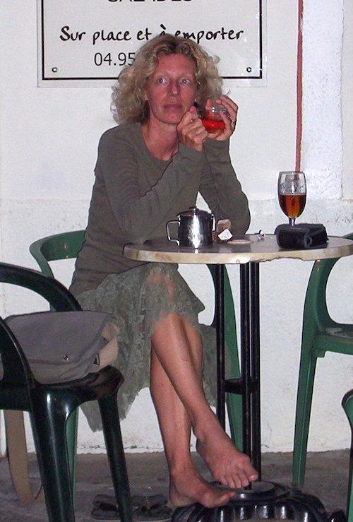 Sabine Eichhorst in Frankreich