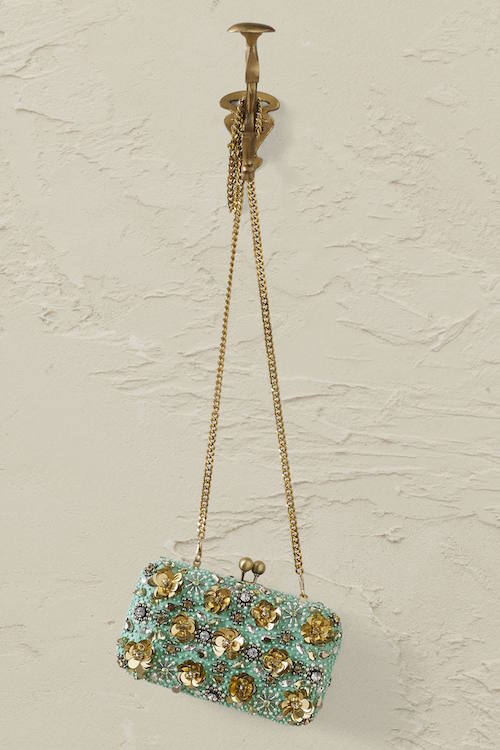 Glitzer-Clutch von Anthropologie