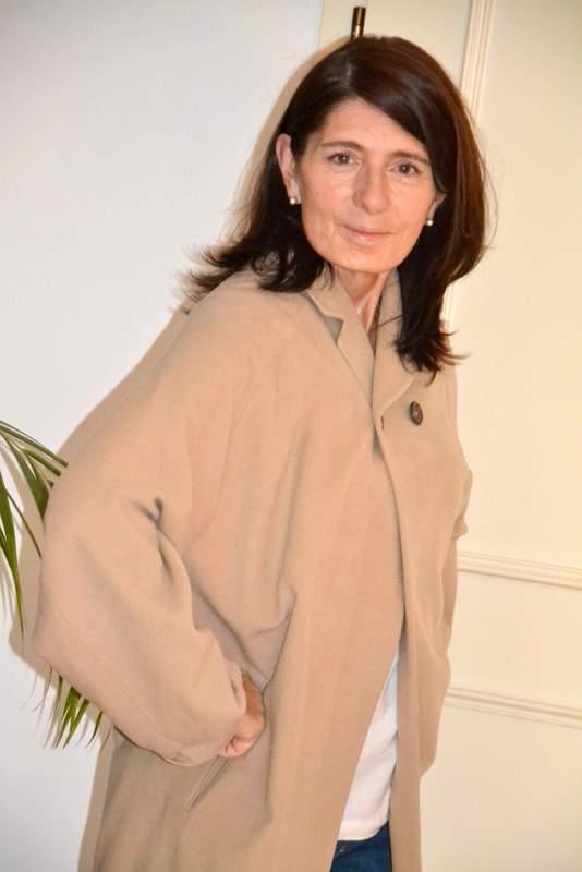 Claudia Braunstein und die Lieblingsjacke von Jil Sander