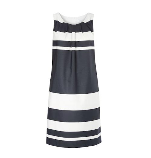Etui-Kleid im Marinelook von Elégance