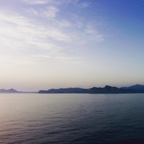 Das Mittelmeer.