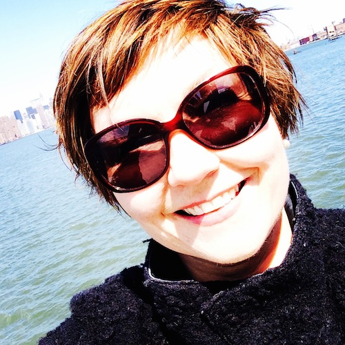 Selfie auf East River Ferry