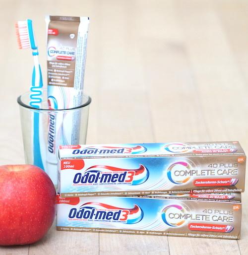 Zahnpflege für reifere Zähne: Odol-med3 Complete Care 40 plus