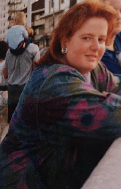 Catherina Wilhelm, Mitte der 80er.