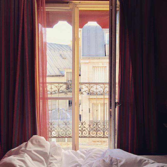 Ein Pariser Morgen.