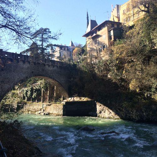 Brücke über die Passer.