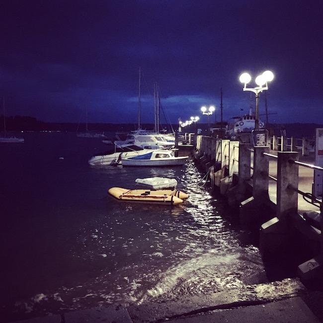 Portoroz. Am Hafen.