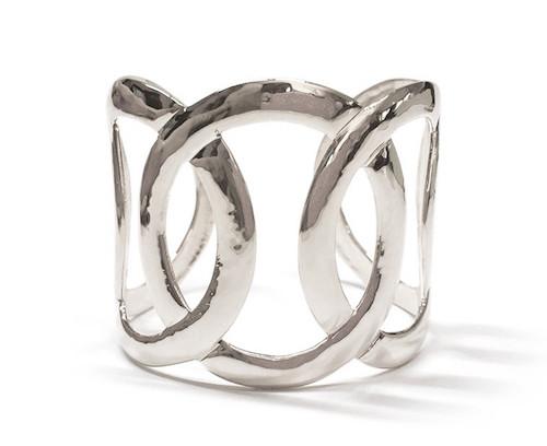 Silber-Cuff von Rejane Rosenberger